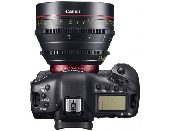 Canon EOS-1D C — фотокамера, которой можно снимать фильмы