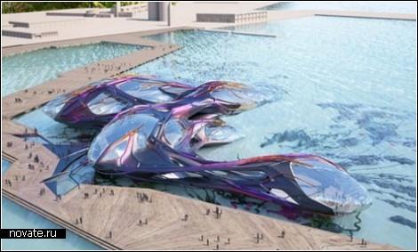 Гигантский кит – украшение EXPO-2012