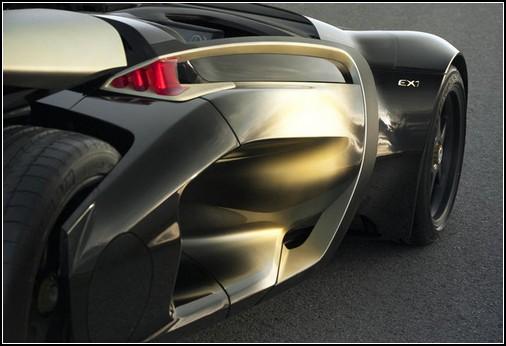 Peugeot EX1 – спортивный электромобиль