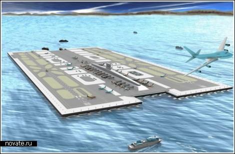 Аэропорт Сан-Диего посреди океана