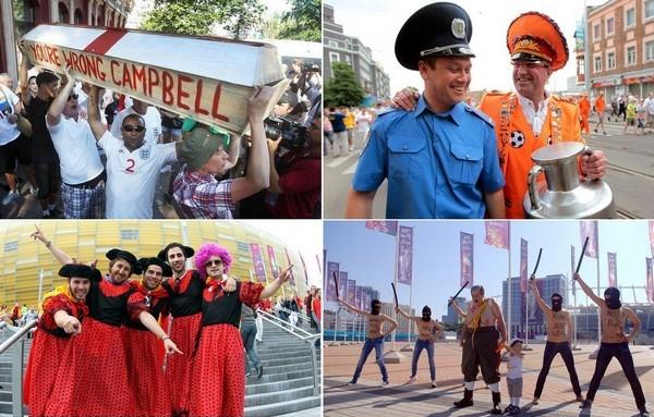 Фанасткий креатив на Евро-2012