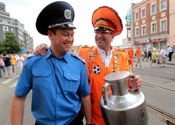 Голландский милиционер