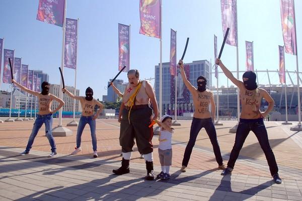 FEMEN против Лукашенко