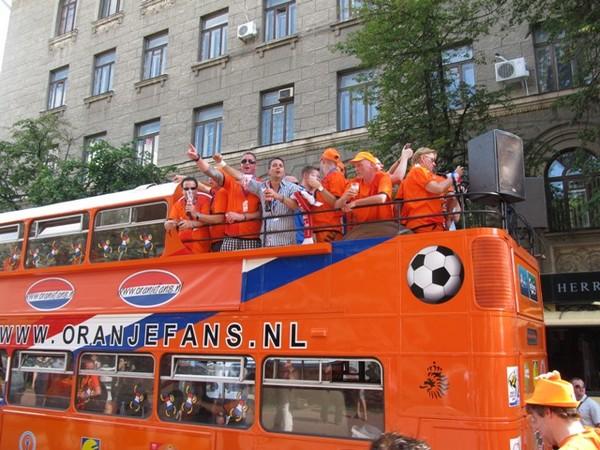 Голландский двухэтажный автобус