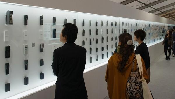 Музей эволюции мобильных телефонов