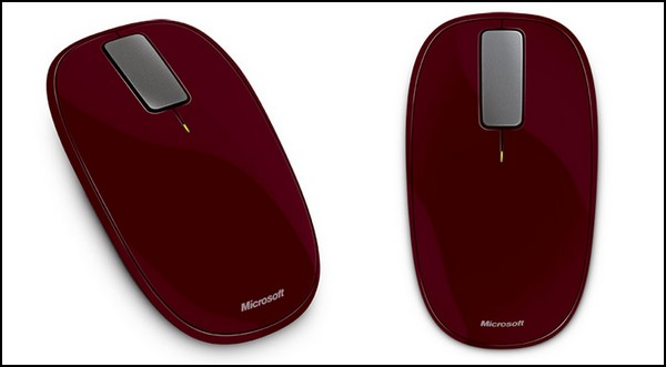 Мышка-вездеход Microsoft Explorer Touch Mouse с сенсорным «колесиком»