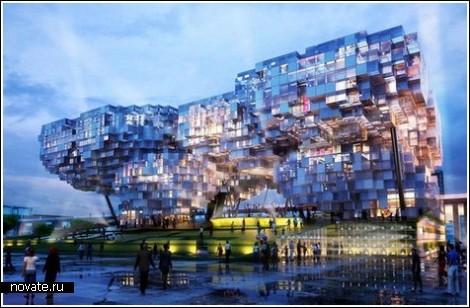 Архитектурные фрики обзор павильонов