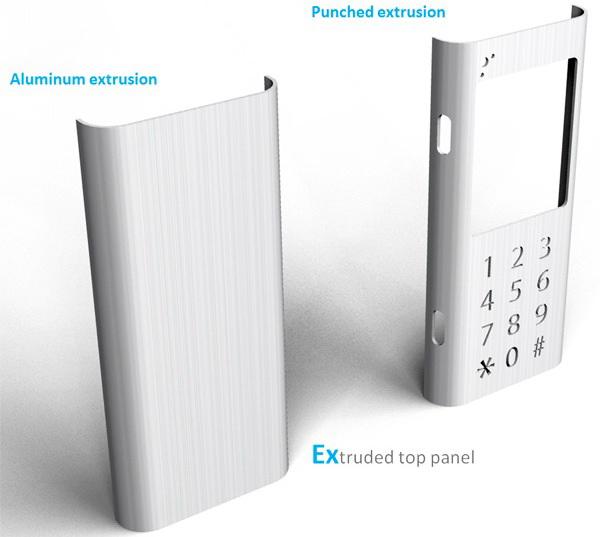 Extru – мобильный телефон класса лоу-кост