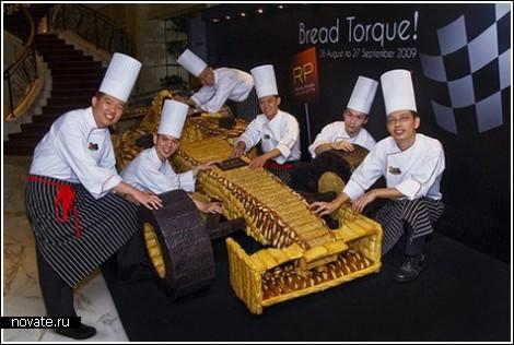 Хлебный автомобиль из Формулы-1