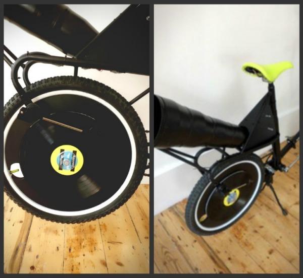 Велосипед-граммофон Dubbed Feats Per Minute