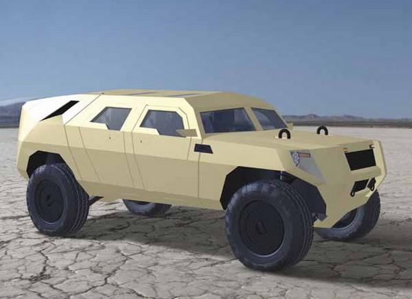 FED Bravo - гибридный бронемобиль для американской армии