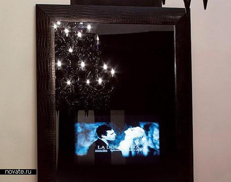 Зеркало с телевизором от Fendi