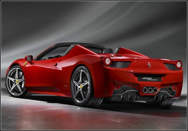 Кабриолет мечты Ferrari 458 Spider