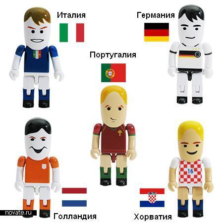 Футбольные флешки