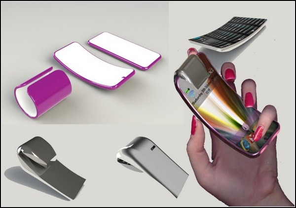 Его можно сгибать как вам захочется и как вам будет удобно.  Так что теперь сотовый телефон можно.
