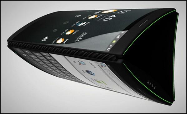 Flip Phone – телефон с тремя экранами