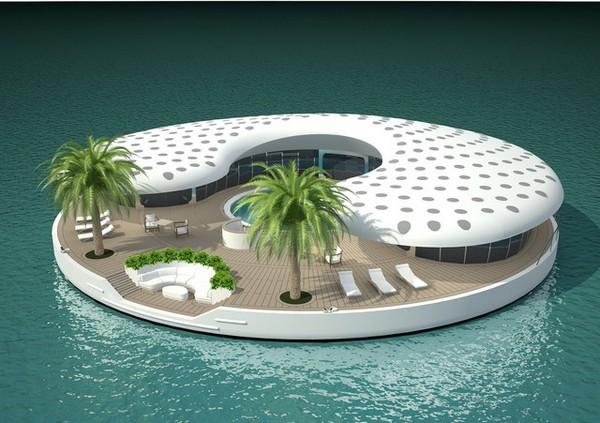 Плавающие острова Ome в Дубаи