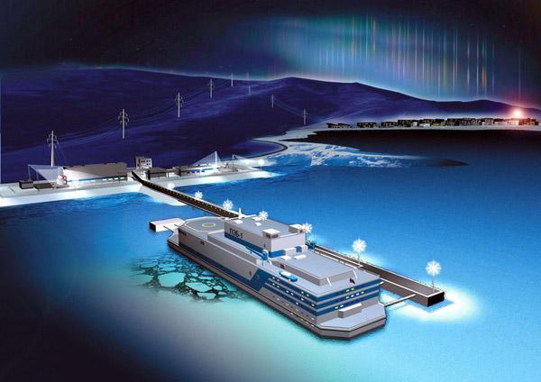 Будущее российской энергетики: плавучая атомная электростанция Академик Ломоносов