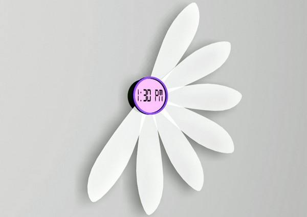 Настенные цветочные часы Flower Clock