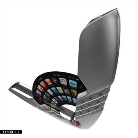 Телефон-веер: новый вид корпуса в разработке у LG