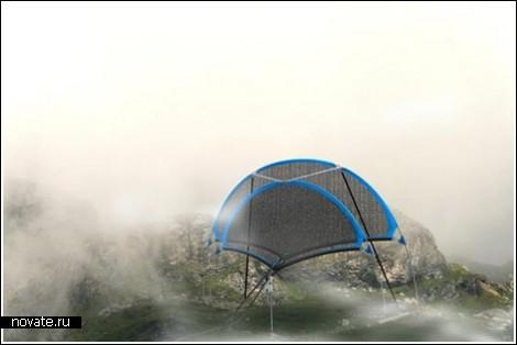 Как сделать воду из тумана?