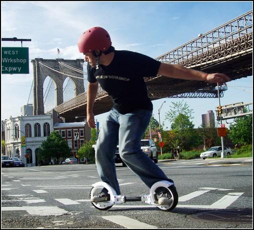 FreeRider SkateCycle – смесь скейтборда и роликов