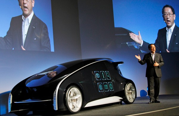 Интерактивный автомобиль Toyota