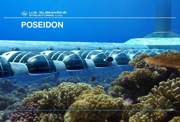 Подводный отель Poseidon
