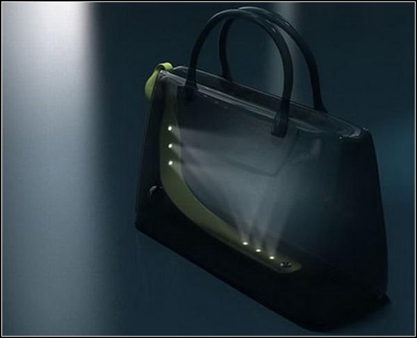 Мечты сбываются или женская сумочка с подсветкой).  2. Когда уже научатся проводить свет в женские сумки...