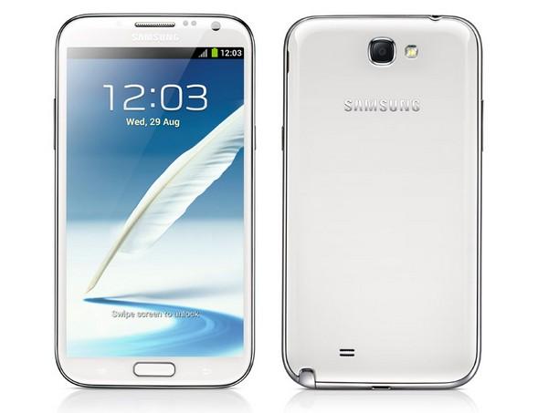 Samsung Galaxy Note II – смартфон-планшет с диагональю экрана 5.5 дюймов