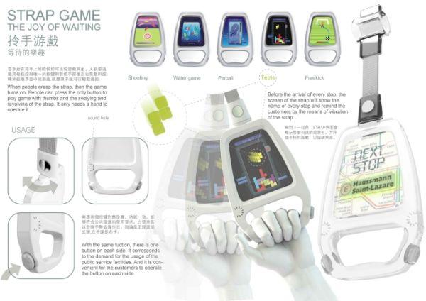 Game Strap – поручень с видеоиграми