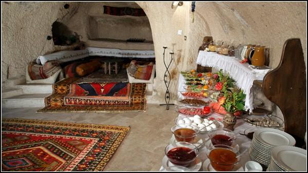 Отель в пещерах Каппадокии