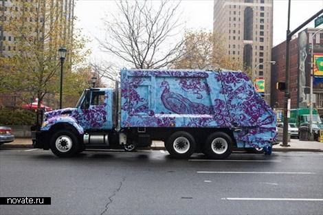 Креативные мусоровозы
