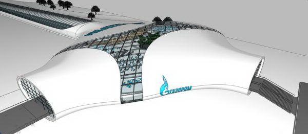 Железнодорожный вокзал для Газпрома