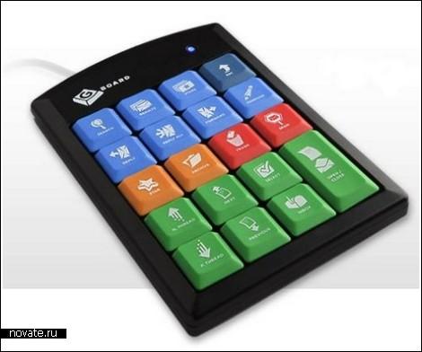 Клавиатура для работы с GMAIL