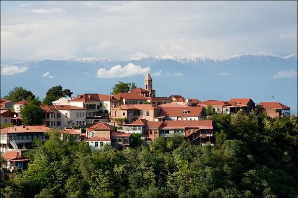 Здания грузии современные фото