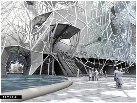 Здание-фильтр – пустынная архитектура в Дубаи