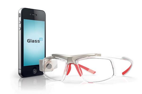GlassUp – дешевый конкурент Google Glass