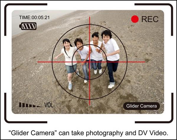Летающий фотоаппарат Glider Camera