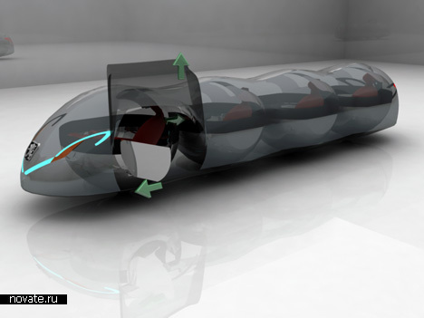Машина-молекула от Peugeot
