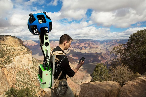 Google Trekker Street View Backpack – рюкзак для путешественников от Google