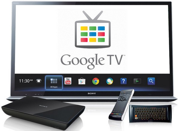 Google TV � ���������� ������ Google � Sony