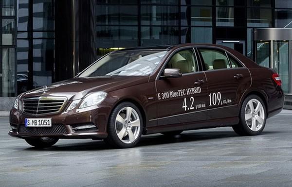 Гибридные авто Mercedes E300 и Mercedes E400