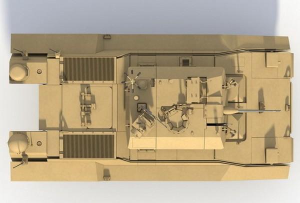 Гибридный танк Hybrid Electric Drive от BAE Systems