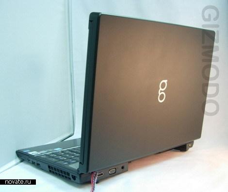 Ноутбук с двумя мониторами