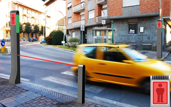 Guardian – лазерные лучи для безопасного перехода улицы