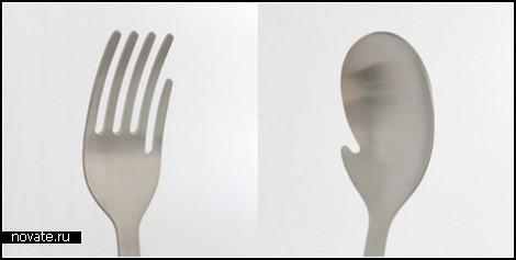 Дополнительный палец для вилки и ложки