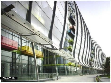 Терминал для круизных лайнеров в Шанхае