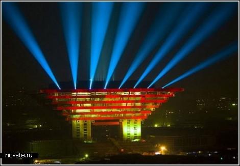 «Корона Востока» - китайский павильон для EXPO-2010 в Шанхае