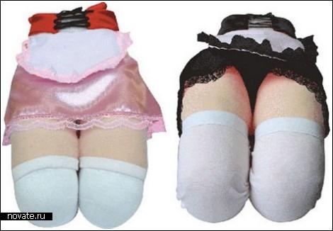 Женские коленки в чулках